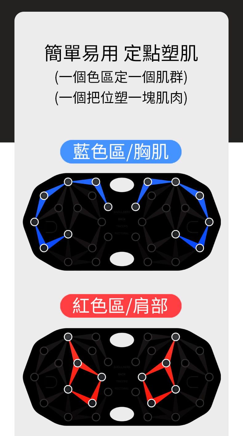 【台灣現貨】俯臥撐支架輔助器男士多功能練腹肌訓練板(22種功能) 6