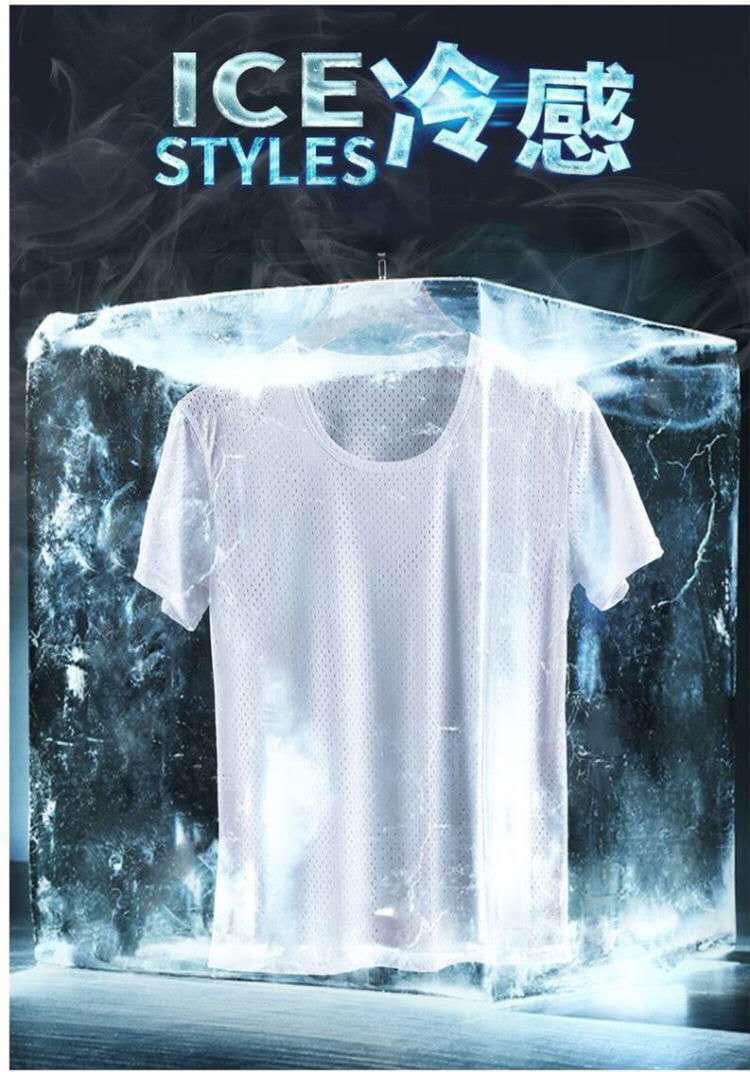 超薄涼透氣排汗速乾T恤 內搭外穿舒爽運動上衣 情侶款 網眼T恤 2