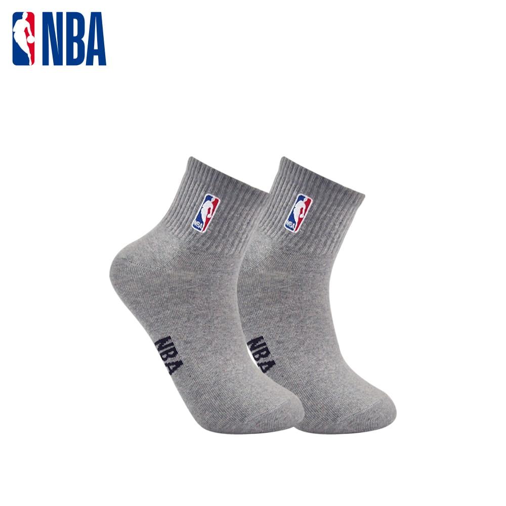 【NBA】襪子 平版襪 短襪 LogoMan刺繡短襪 2