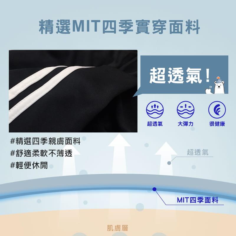 【JU休閒】台灣製造!男女休閒束口褲 運動褲 2