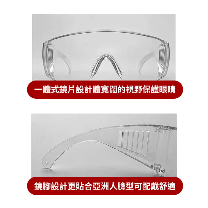 MIT 戶外護目鏡抗UV400 檢驗合格 (可套式) 12