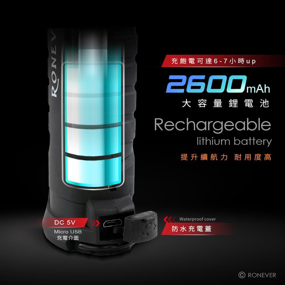 【RONEVER】COB-2磁吸工作燈手電筒 9