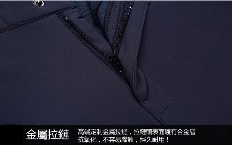 男女款加绒加厚防寒防風#205防水機能褲/加絨褲 11
