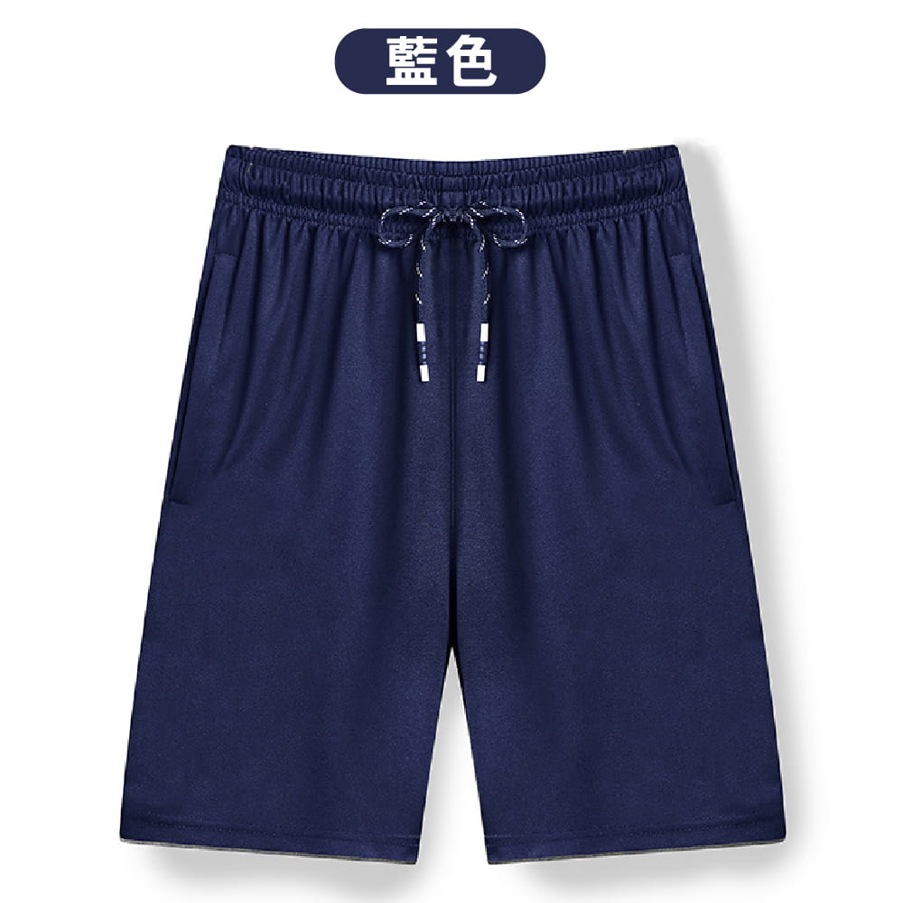 【NEW FORCE】高機能彈力抽繩運動男短褲-2色可選 11