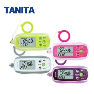 【TANITA 塔尼達】3D計步器 FB736 (粉/灰/紫/綠) 0