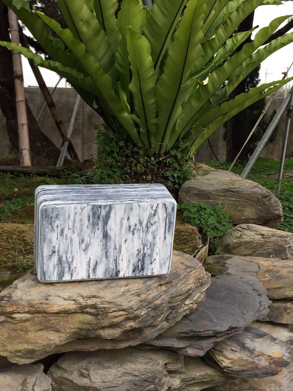 【QMAT】 40D瑜珈磚 混色系-青銅石紋、黑白雲彩 1