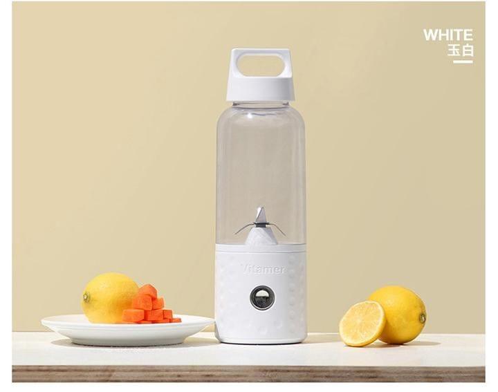 自動果汁隨行果汁機 榨汁機  USB 充電 手提把設計 12