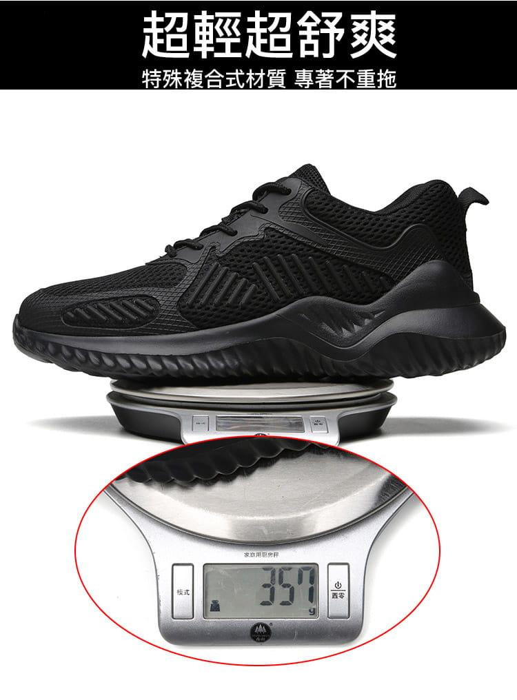 黑凱薩機能鋼鐵鞋 8