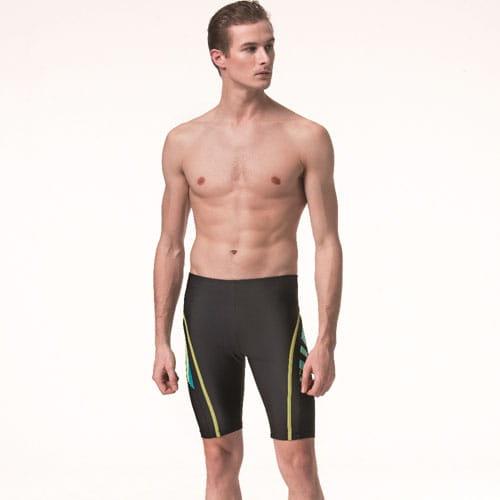 【SARBIS沙兒斯】泡湯 SPA七分泳褲附泳帽B55818 0