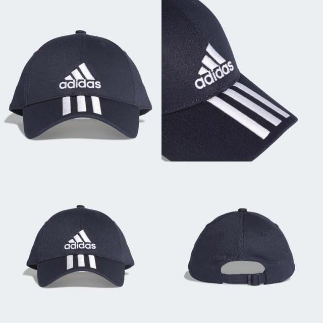 【adidas】經典(三條線) 老帽 運動棒球帽 1