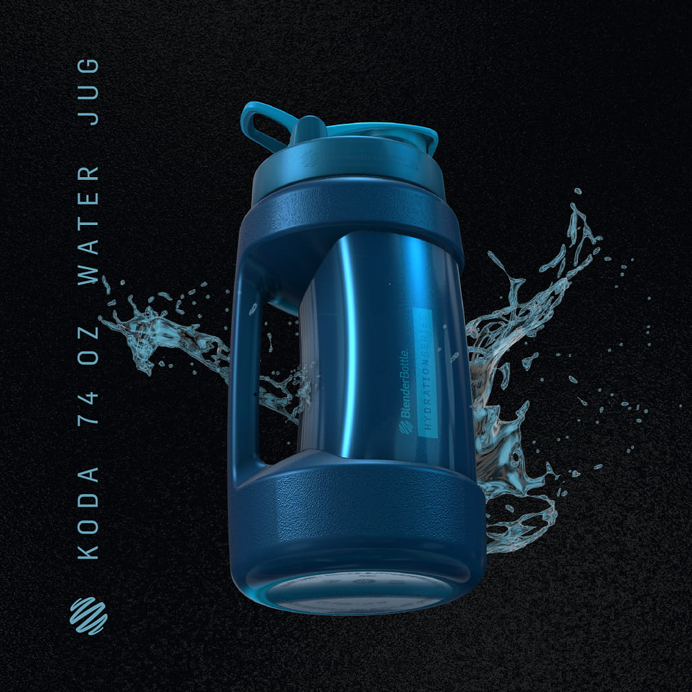 【Blender Bottle】Koda系列 巨無壩水壺 一天水的需求量 2.2公升 5