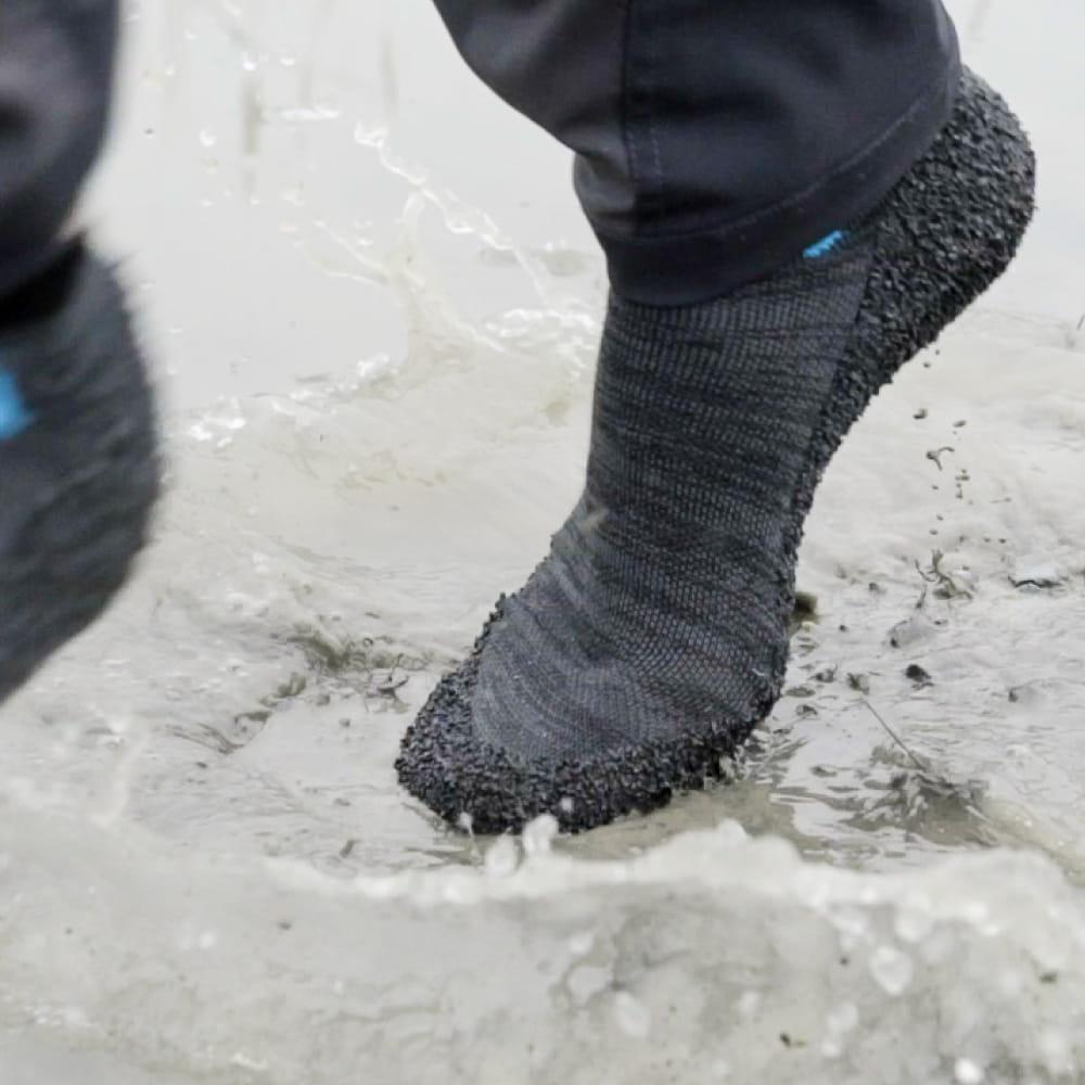 【Skinners】裸足感耐磨機能運動鞋襪-5色 19