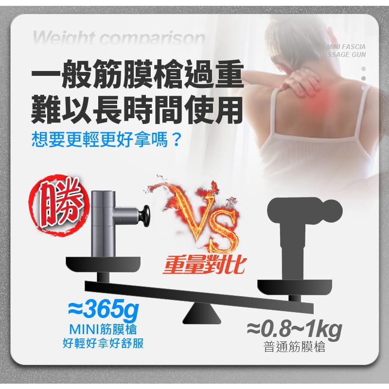 MINI超輕量強勁變頻筋膜按摩槍 16