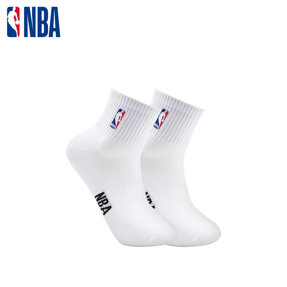 【NBA】襪子 平版襪 短襪 LogoMan刺繡短襪 1