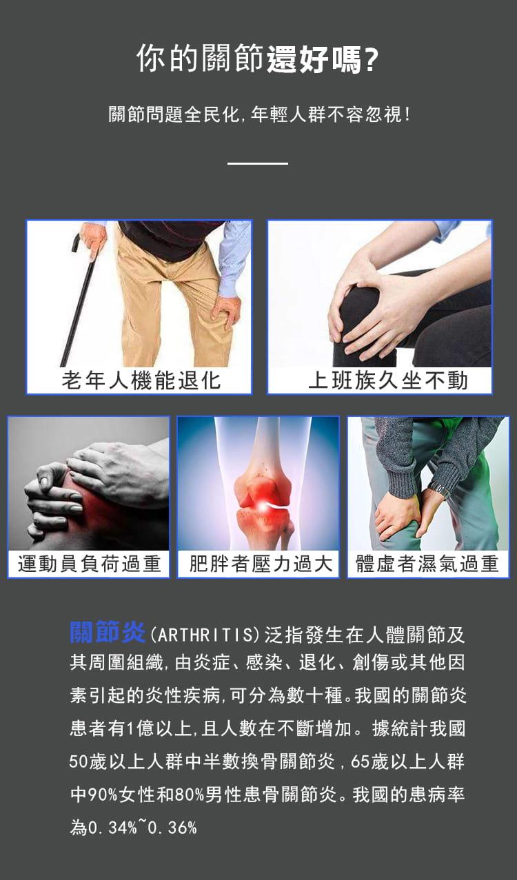 多功能肩頸腰膝蓋熱敷按摩器 1