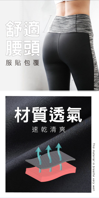【iFit】Fitty 迷彩 護膝壓力褲(旗艦拼彩款) 10