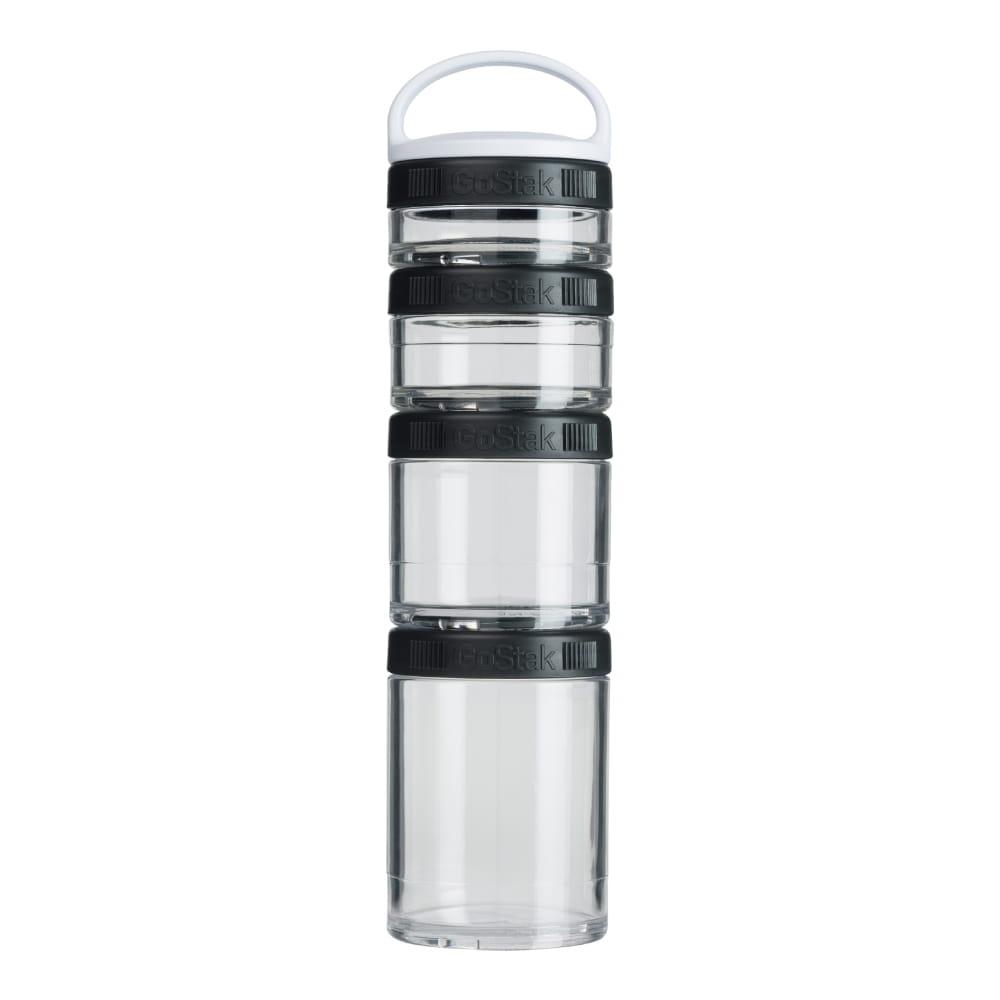 【Blender Bottle】Gostak系列-多層補給保鮮罐(黑) 1