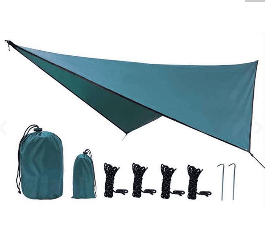 戶外露營遮陽菱形天幕 0