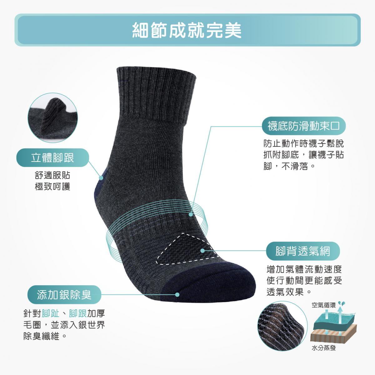【FAV】除臭運動襪 1