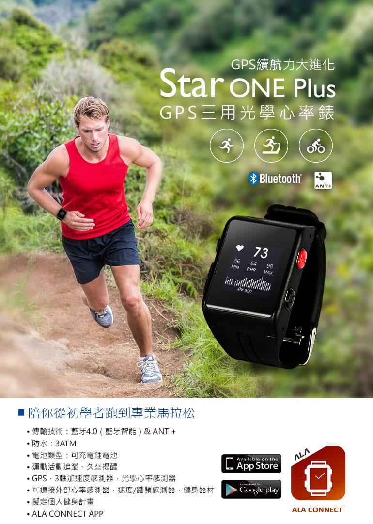【ATTACUS】Star ONE Plus GPS 光學心率錶 1