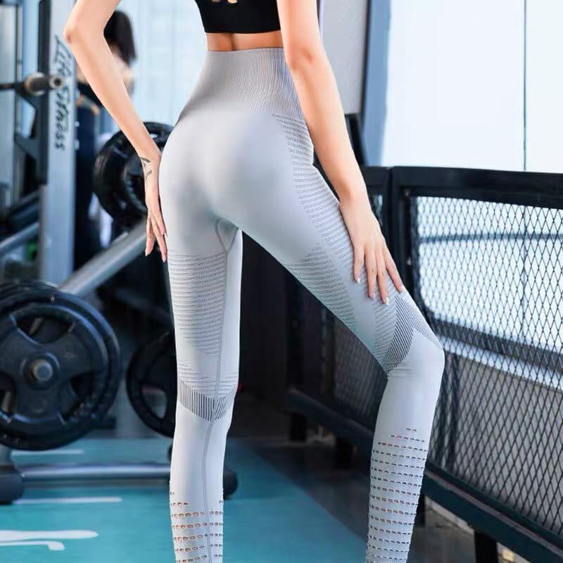 運動長褲無縫大尺碼S-XL韻律有氧跑步瑜珈-KOI 6
