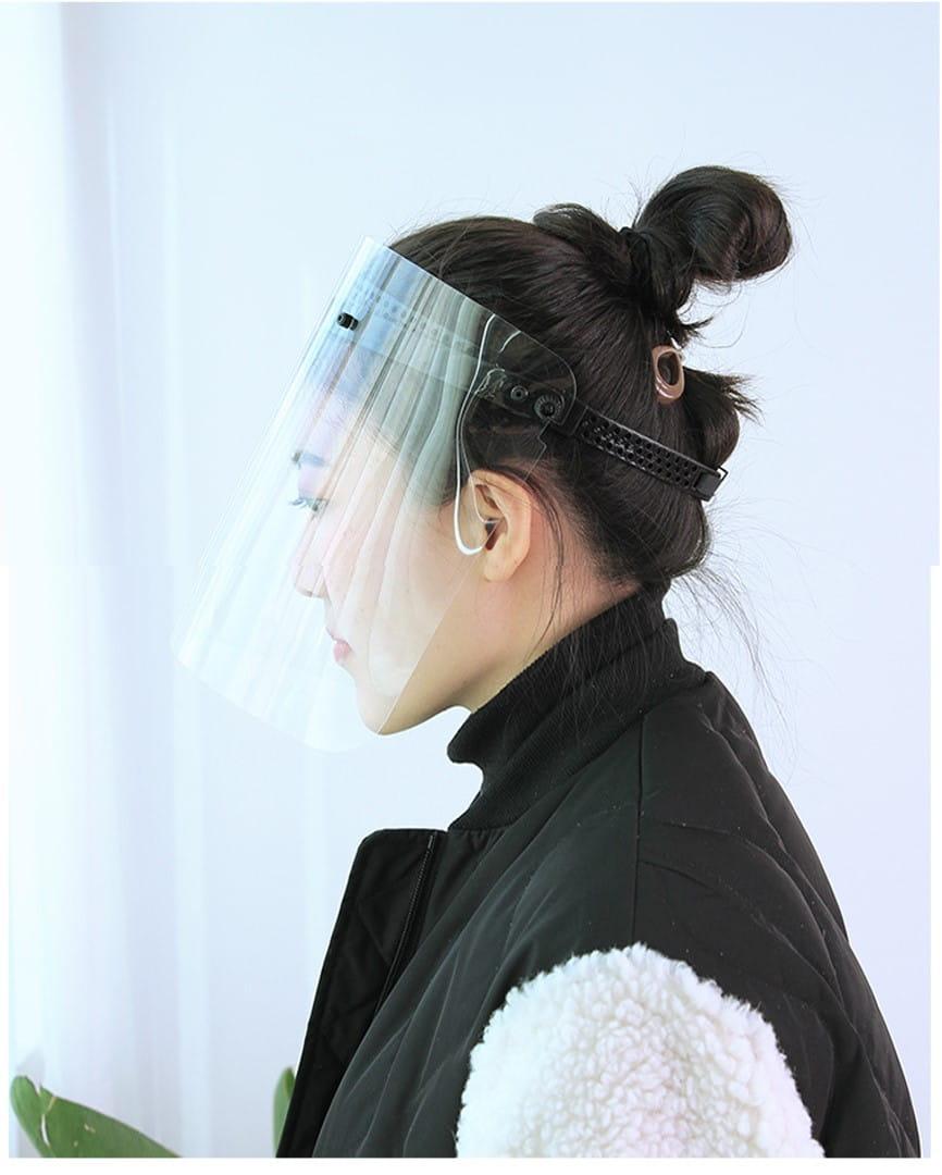 全臉高透明防疫面罩(可調控升級版) 5