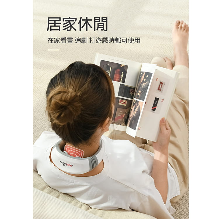 【JAR嚴選】便攜型智能頸椎按摩器 4