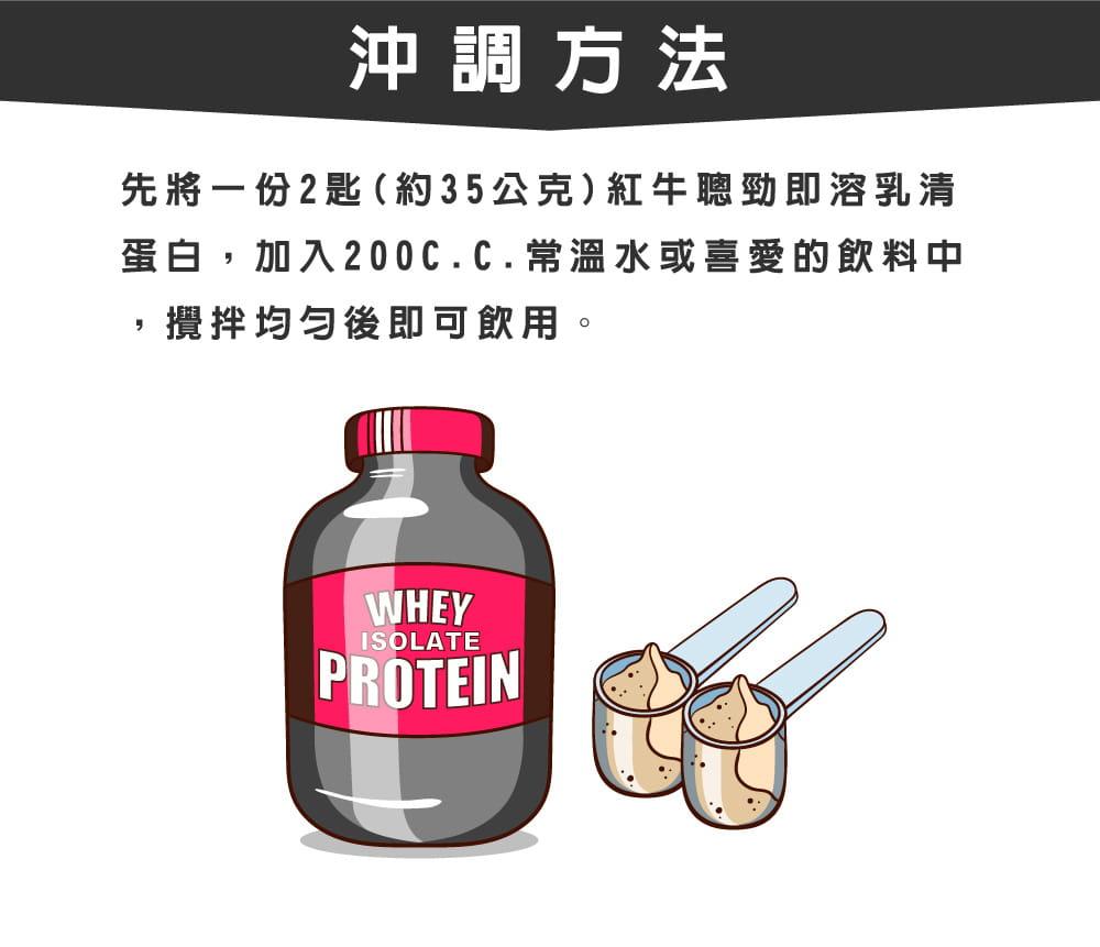 【紅牛聰勁】【紅牛】聰勁即溶乳清蛋白-曼特寧咖啡風味(3公斤) 7