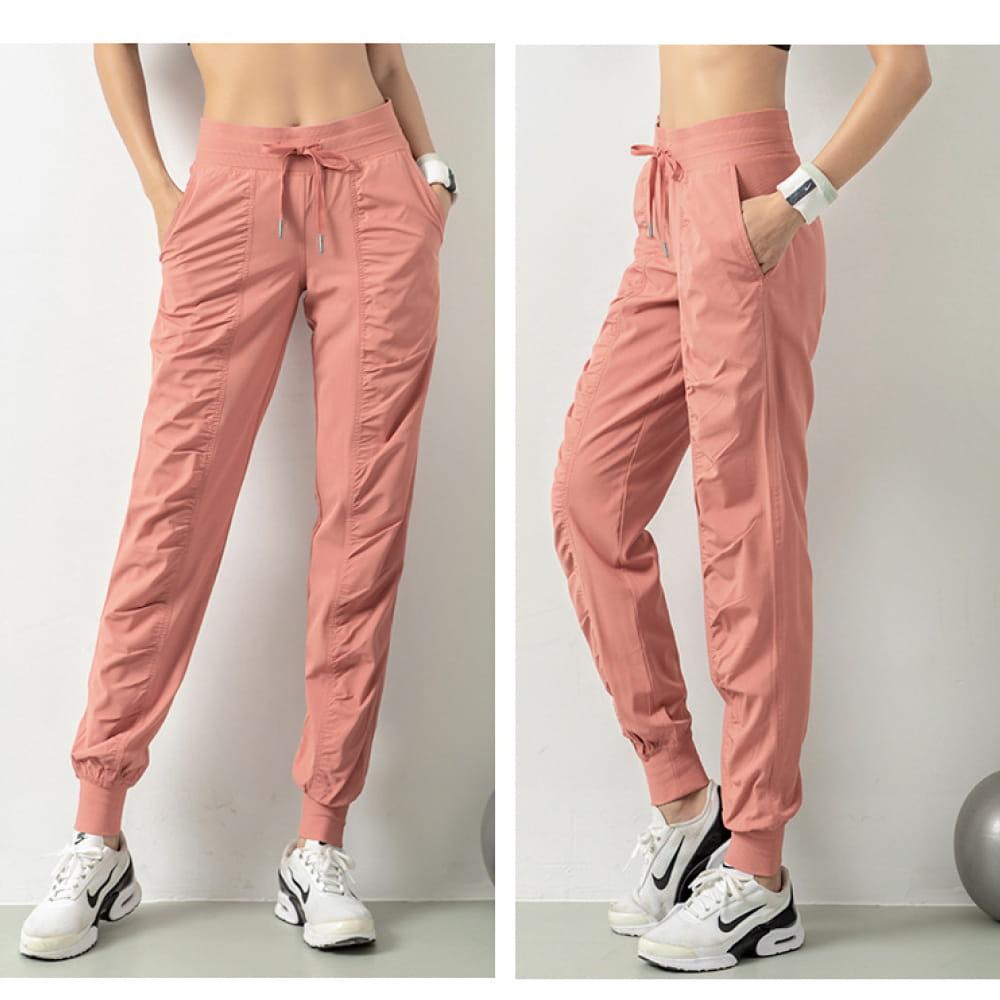 輕薄透氣寬鬆機能運動褲 9