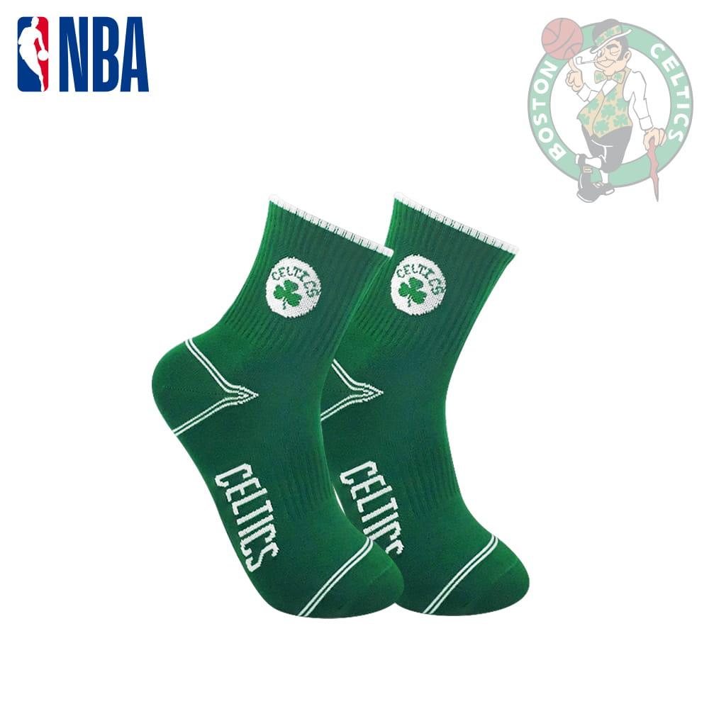 【NBA】球隊款緹花中筒襪 12