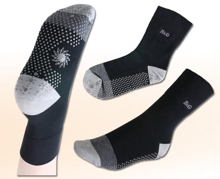【京美】能量健康按摩襪 船型襪 1