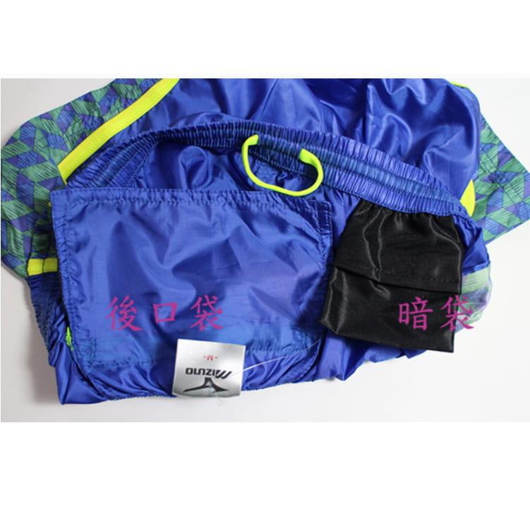 MIZUNO 女路跑 短褲 J2TB570124 藍 2