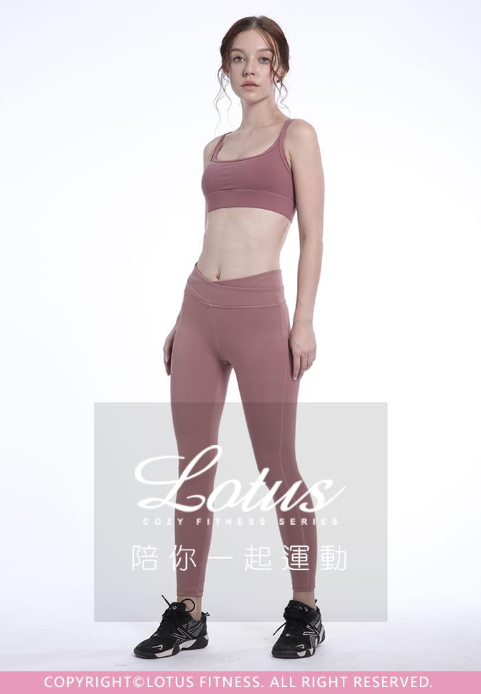 修飾腰線交叉收腹瑜珈運動褲-4色 18