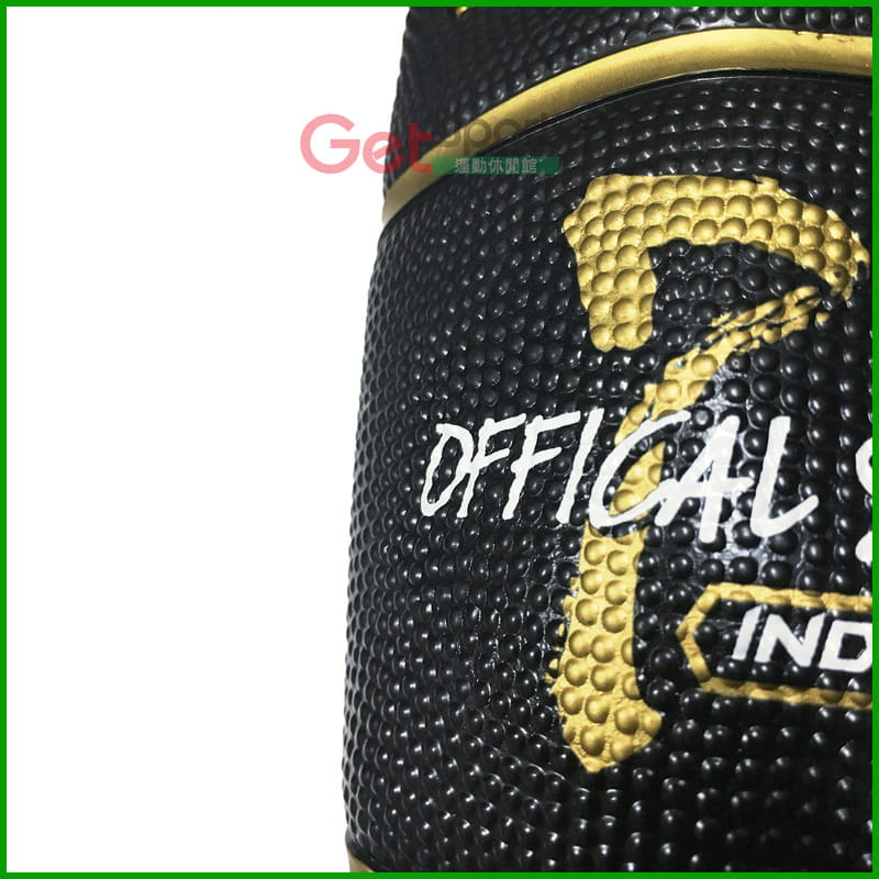TROPS籃球7號(黑色金溝款) 1