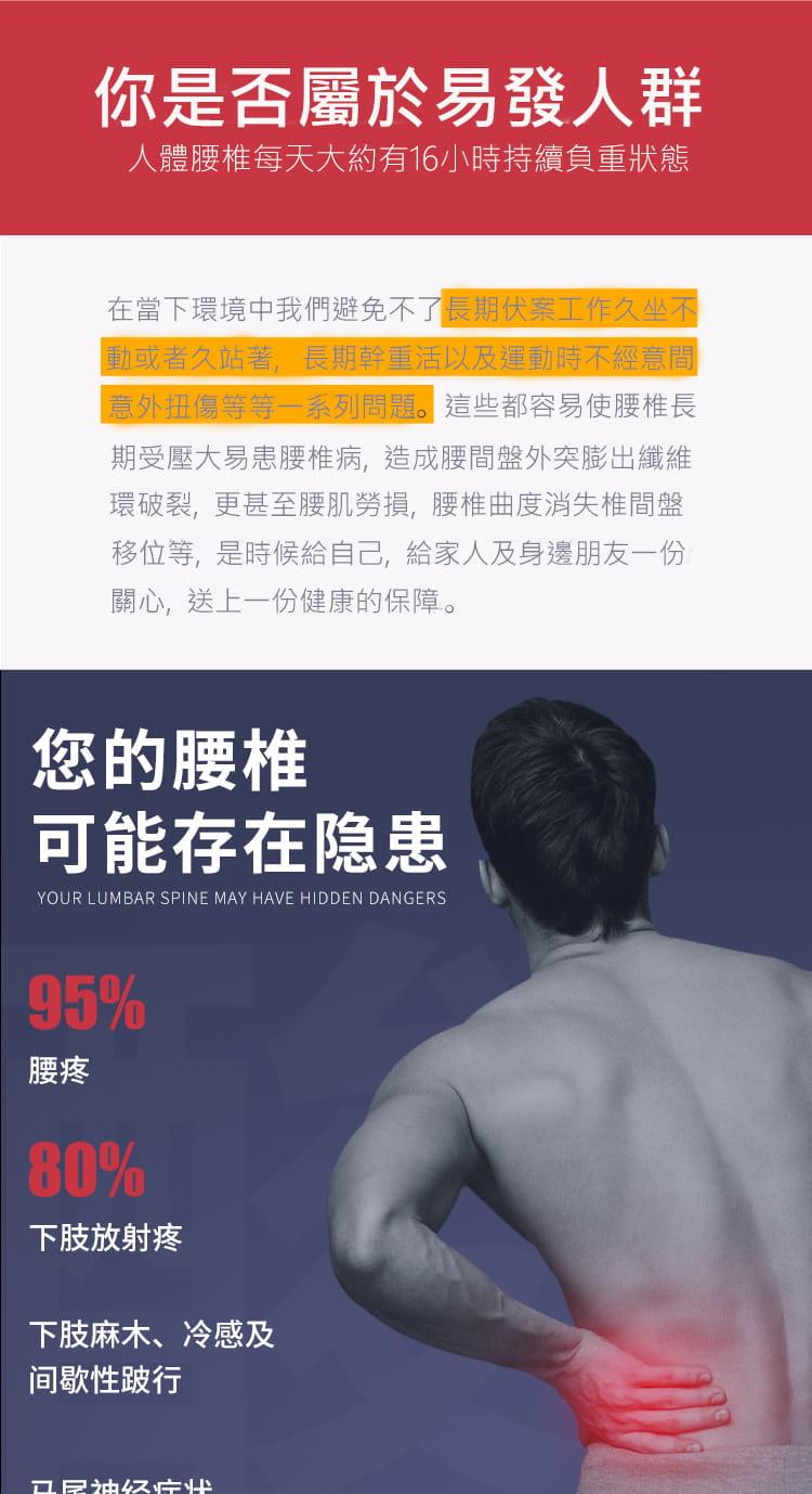 針灸+磁石款2合1背部伸展器 牽引器 拉背器 脊椎矯正器 頸椎伸展 靠背板 腰部按摩 10
