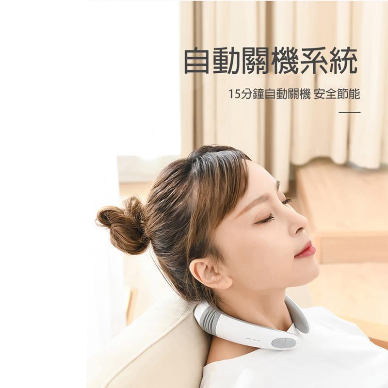 【JAR嚴選】便攜型智能頸椎按摩器 5