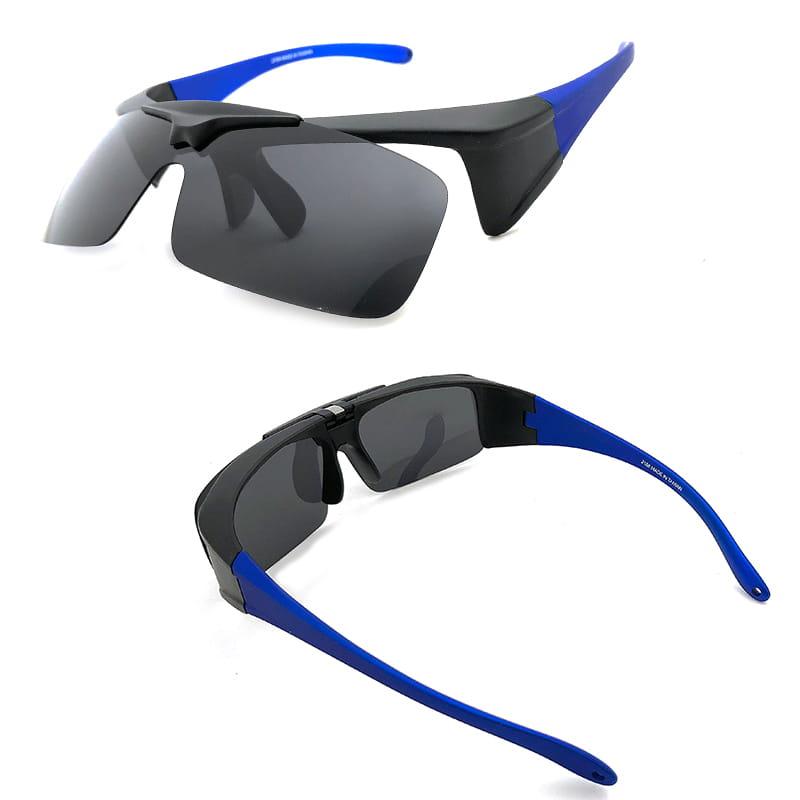 運動休閒上翻式偏光太陽眼鏡 (可套鏡) 8
