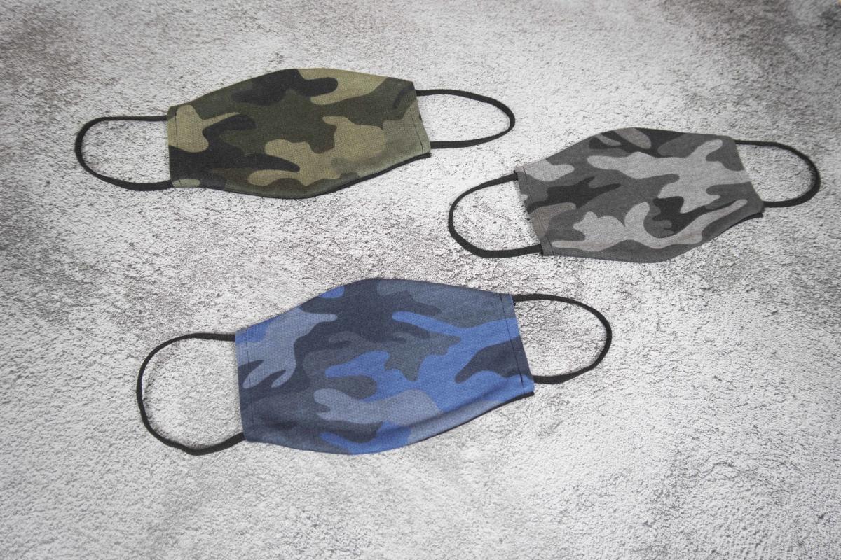 【ELASTI】純棉男士迷彩口罩(買口罩送10片拋棄式濾片) 4
