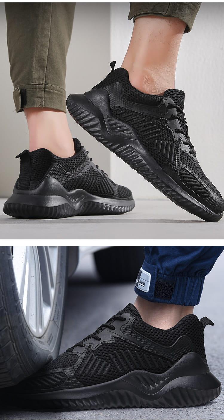 黑凱薩機能鋼鐵鞋 4