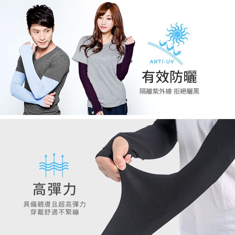 【BeautyFocus】超彈力運動防曬涼感袖套 6