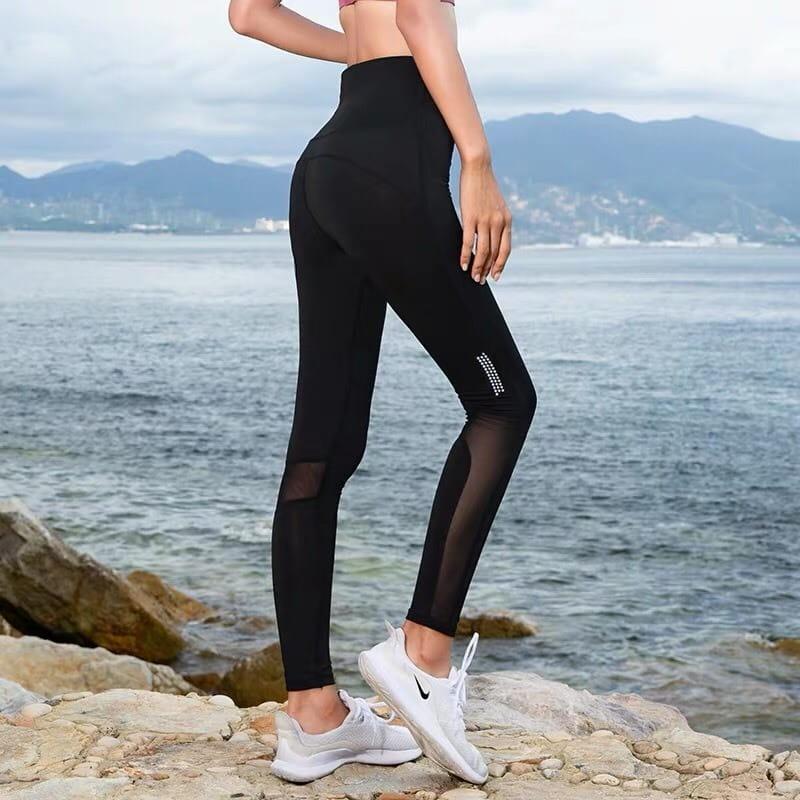 運動休閒長褲韻律有氧跑步瑜珈-KOI 0