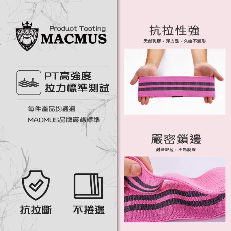 【MACMUS】升級防滑乳膠彈力翹臀圈|健身運動、深蹲、瑜珈|阻力圈虐臀圈 4