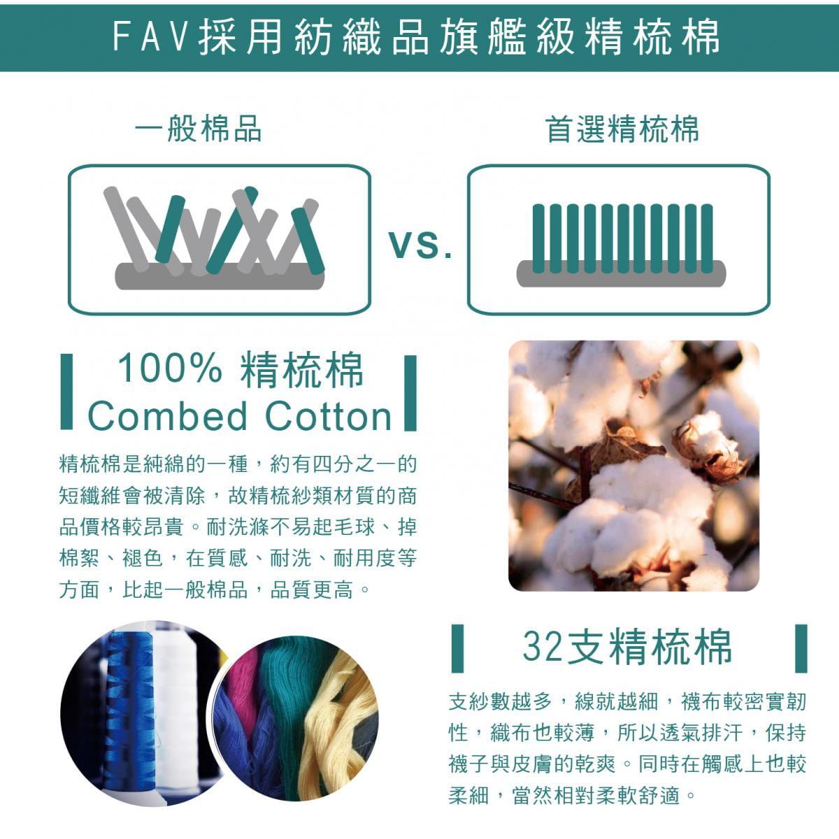【FAV】運動加大除臭數字襪(單隻販售) 11
