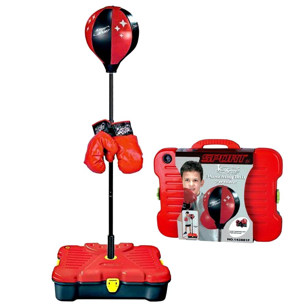 【史酷迪】可攜帶式兒童有氧拳擊訓練組 0