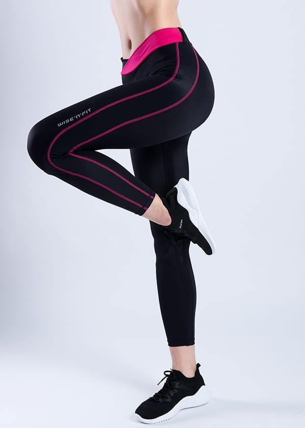 【WISENFIT】台灣製- 塑身訓練壓力褲 14
