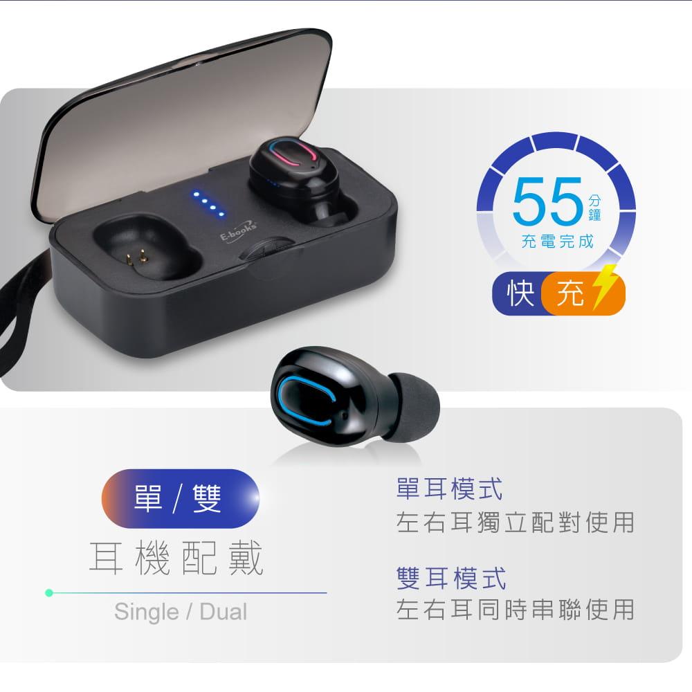 【E-books】SS6 真無線藍牙5.0微型立體聲耳機 3