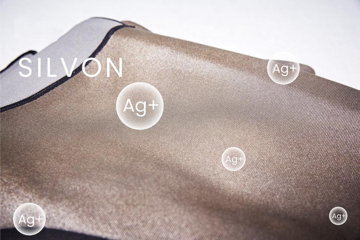 【微笑生活】Soft Snug 銀纖維爆汗九分褲(單口袋) 銀離子 5