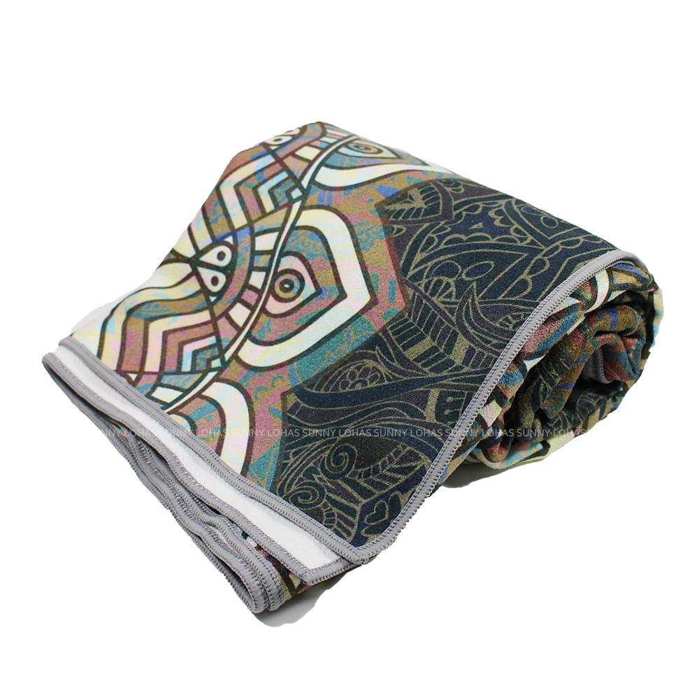 矽膠止滑瑜珈巾 瑜珈鋪巾 瑜珈墊 地墊 SNAY11泰象