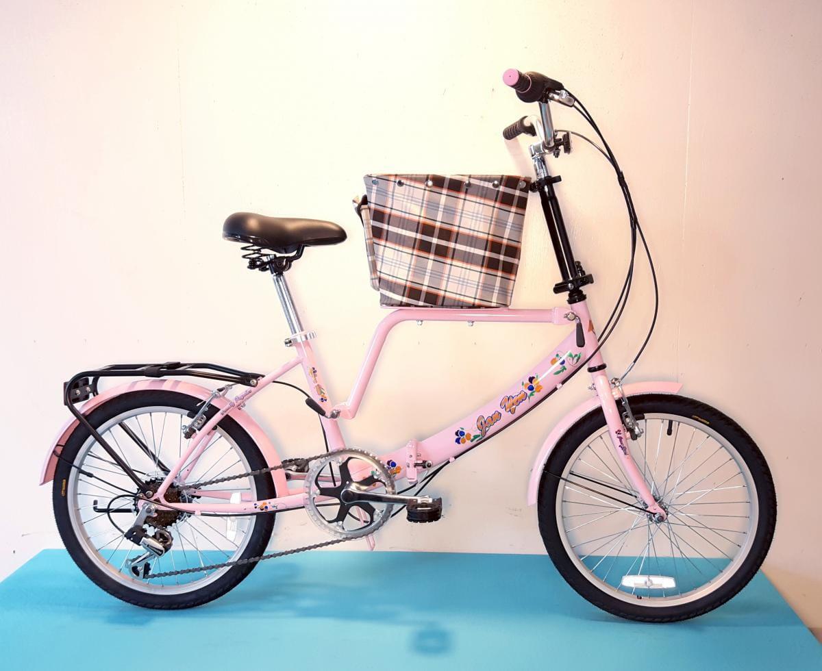 台製 20吋 6速 SHIMANO 摺疊 小籃 寵物腳踏車 4