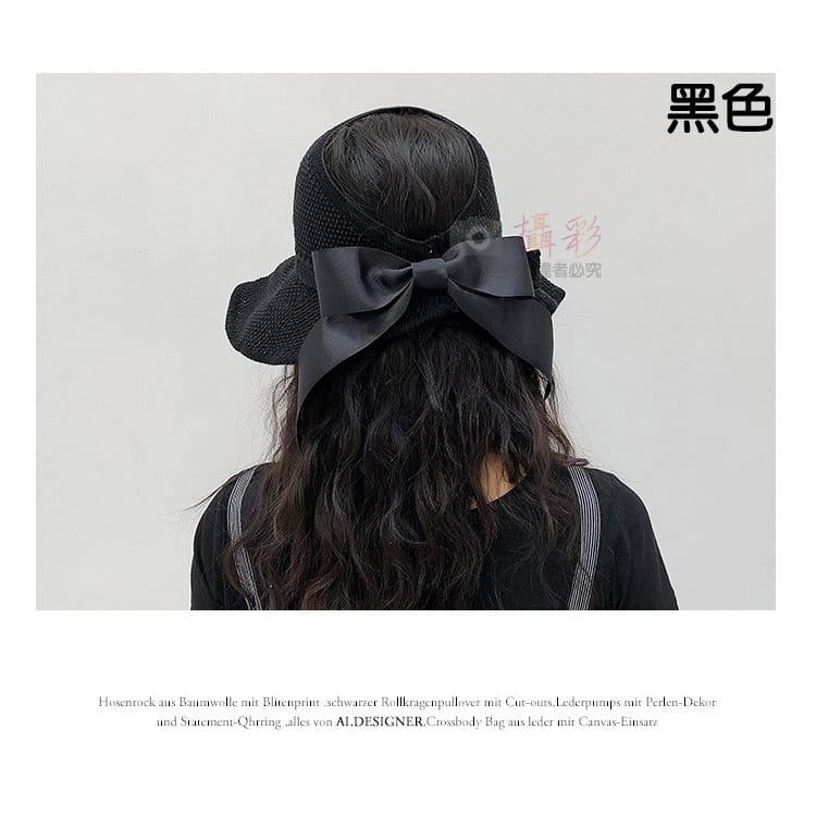 女用空頂遮陽帽 8